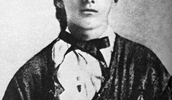 ** FILE ** Jesse James and others tried to rob a bank in Northfield, Minn., in 1876. Adelbert Ames was among the locals who assembled to drive off the robbers. (Historical Society of Missouri)