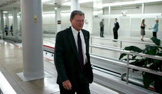 **FILE** Sen. James M. Inhofe, Oklahoma Republican