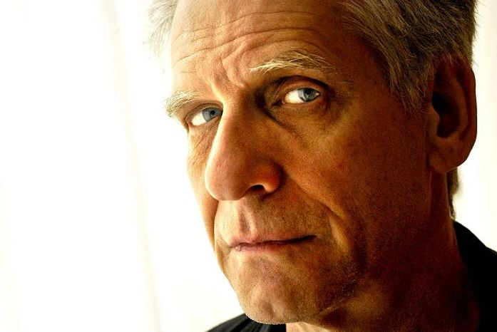 Director David Cronenberg takes time for a portrait following an interview in Washington, D.C., Friday Aug. 17, 2007.