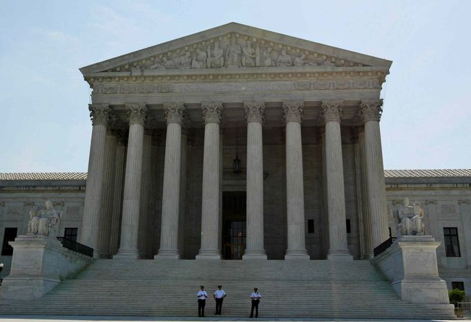 The Supreme Court (Associated Press) ** FILE **