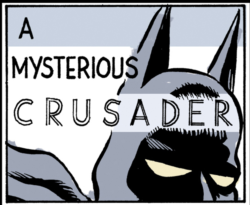 A Mysterious Crusader by Alexander Hunter for The Washington Times