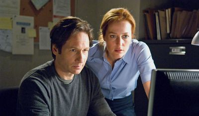 "David Duchovny and Gillian Anderson star in ""The X-Files: I Want to Believe."""