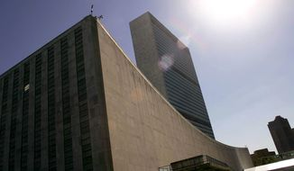 **FILE** The United Nations headquarters in New York