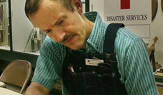 Anthrax suspect Bruce E. Ivins, shown at Fort Detrick in 2003, oversaw research involving the specific anthrax strain used in the 2001 attacks that killed five people. (Associated Press)