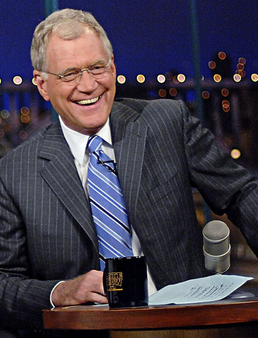"""Late-night talk-show host David Letterman is seen as an """"agent of influence"""" in Saudi Arabia, according to one of the diplomatic cables leaked by WikiLeaks."""