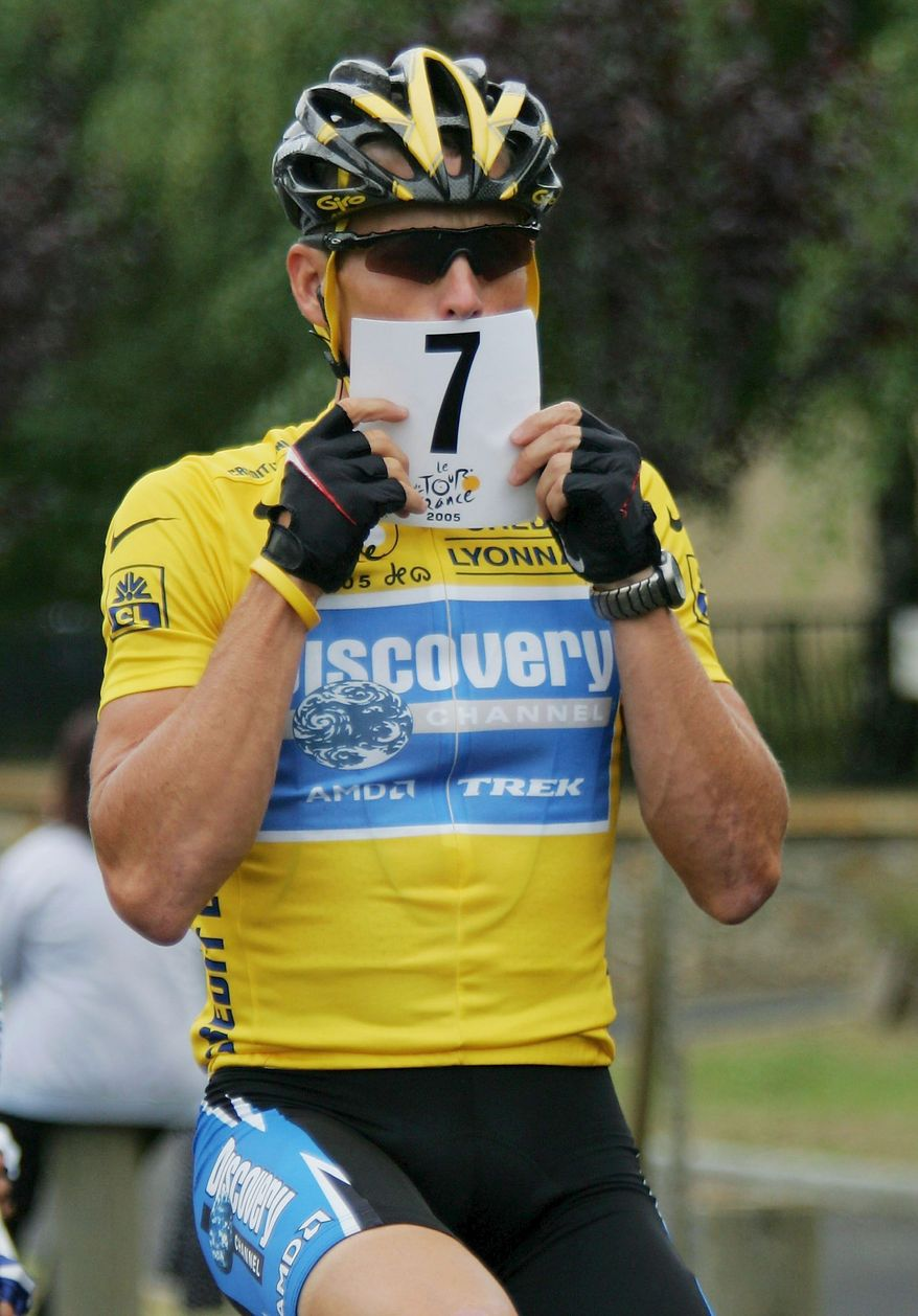 Seven-time champion Lance Armstrong will return to the Tour de France in 2009 after a three-year retirement. (Getty Images)