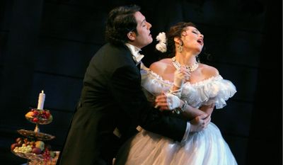 """""""La Traviata"""" is no stranger to the Washington area opera scene, and will return this weekend to George Mason University's Center for the Arts."""