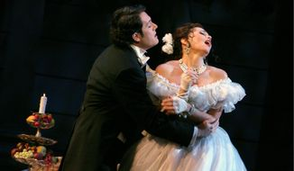 """La Traviata"" is no stranger to the Washington area opera scene, and will return this weekend to George Mason University's Center for the Arts."
