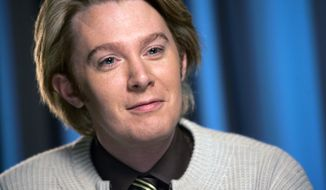 ** FILE ** In this Jan. 10, 2008, file photo, Clay Aiken is shown  in New York. (AP Photo/Richard Drew, file)