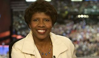 """PBS correspondent Gwen Ifill will act as moderator in Thursday's vice presidential debate. Her upcoming book has raised eyebrows on how she conveys American politics to readers. Miss Ifill has dismissed the criticisms, saying she has """"a pretty long track record of covering politics and news ..."""" Associated Press."""