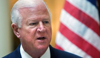 **FILE** Sen. Saxby Chambliss, Georgia Republican (Associated Press)