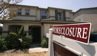 Associated Press A home in Sacramento, Calif., was foreclosed this past summer in one of the states hardest hit by the housing crisis. Many homeowners now owe more on their mortgage than their houses are worth.