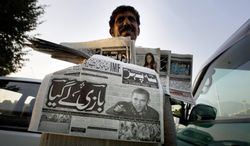 ASSOCIATED PRESS President-elect Barack Obama's victory is headline news in papers Abdul Raheem is selling Nov. 5 in Islamabad.
