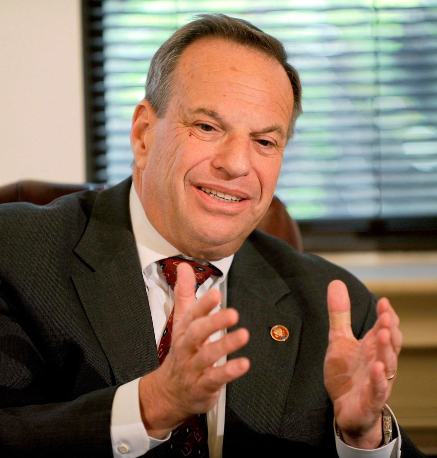 Rep. Bob Filner, D-Calif. (JOSEPH SILVERMAN/THE WASHINGTON TIMES)