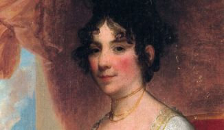 Gilbert Stuart's 1804 portrait of Dolley Madison
