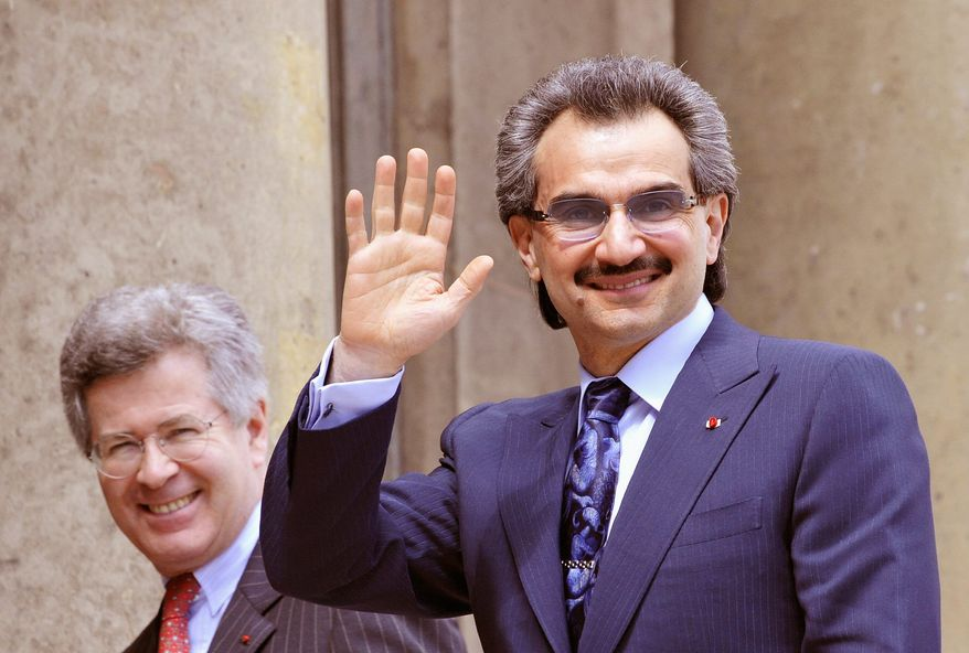 AGENCE FRANCE-PRESSE/GETTY IMAGES Saudi Arabian Prince Alwaleed bin Talal is still the world's richest Arab, with a net worth of about $17 billion, down from $21 billion.