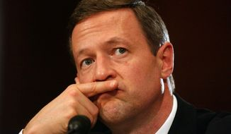 Gov. Martin O'Malley's furlough plan, imposing unpaid leave on thousands of state employees to reduce a budget shortfall, began Friday. Mr. O'Malley has returned five days of his salary. (Astrid Riecken/The Washington Times)