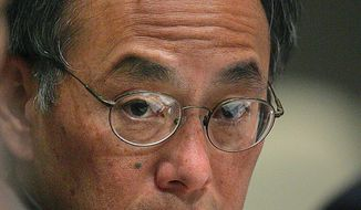 ** FILE ** Energy Secretary Steven Chu. (Associated Press)