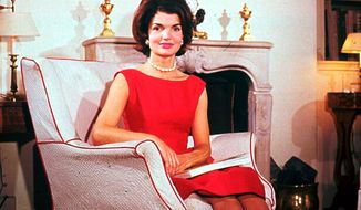 ASSOCIATED PRESS PHOTOGRAPHS First lady Jacqueline Kennedy (top in 1961) set a standard of grace and elegance that may inspire incoming first lady Michelle Obama (left) and Caroline Kennedy, daughter of Jackie and possible pick for New York senator.