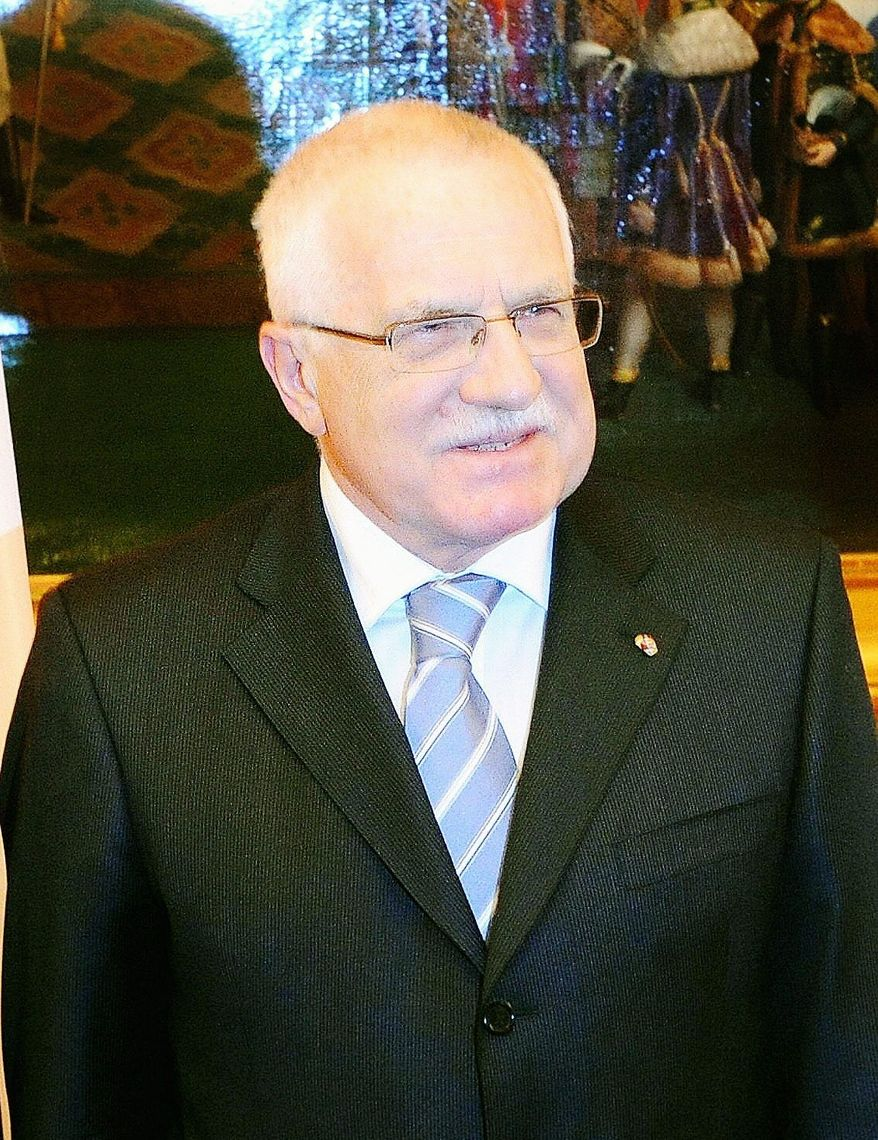 **FILE** Czech president Vaclav Klaus (Agence France-Presse/Getty Images)