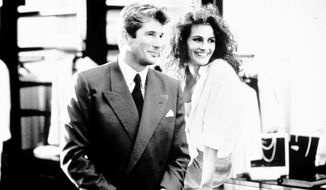 "Actors Richard Gere and Julia Roberts in ""Pretty Woman."" ** FILE **"