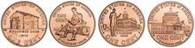 """The U.S. Mint unveiled four revamped Lincoln penny designs in 2009 to mark the 200th birthday of the 16th president. It was a """"milestone moment,"""" said Andrew D. Brunhart, the mint's deputy director. Coin foes say it's only kept in circulation by the zinc lobby. (Associated Press)"""