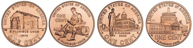 """The U.S. Mint unveiled four revamped Lincoln penny designs in 2009 to mark the 200th birthday of the 16th president. It was a """"milestone moment,"""" said Andrew D. Brunhart, the mint's deputy director. Coin foes say it's only kept in circulation by the zinc lobby. (A"""