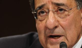 ** FILE ** Central Intelligence Agency Director Leon E. Panetta
