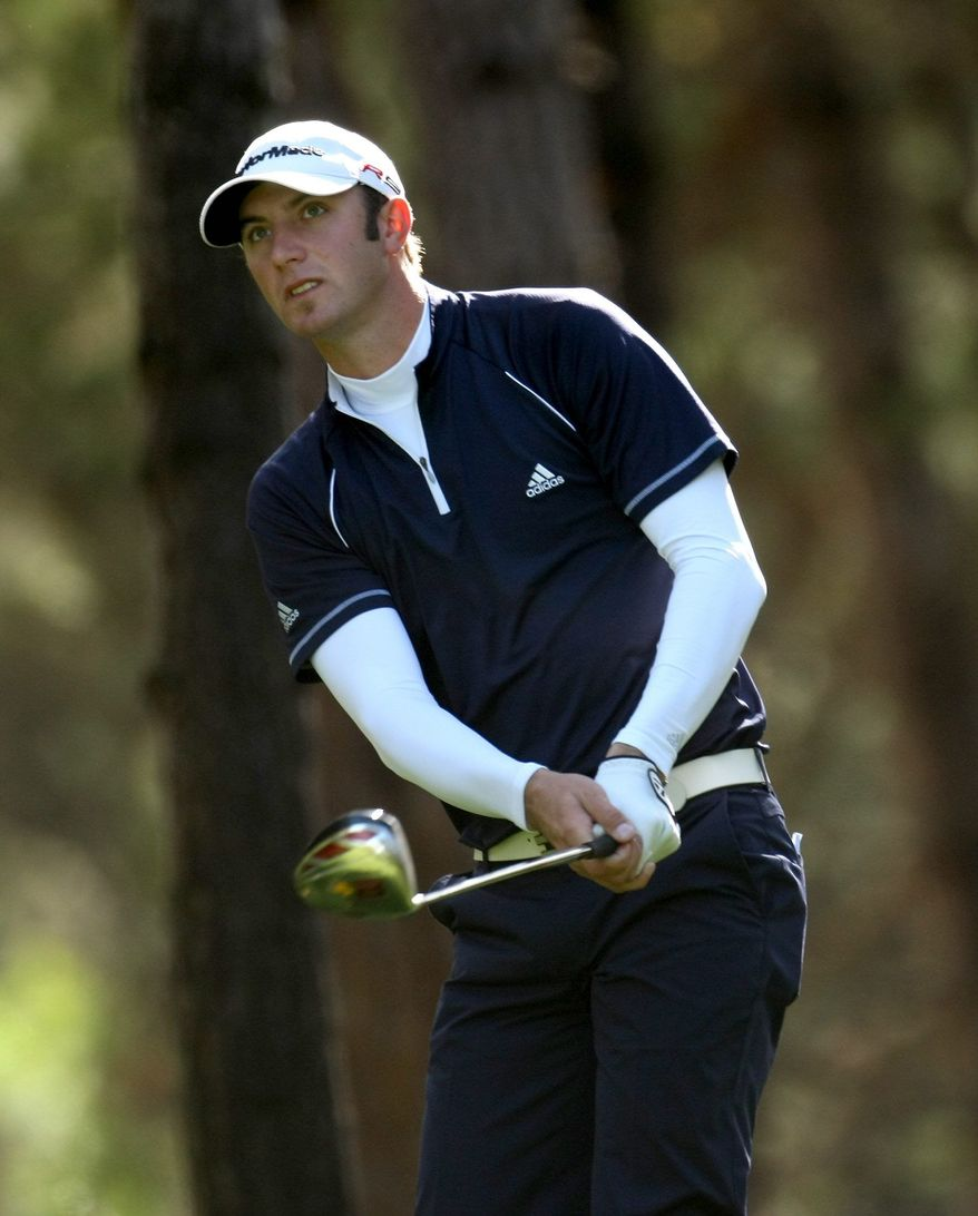 Getty Images Dustin Johnson