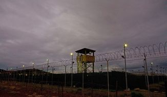 **FILE** The Guantanamo detention facility at Guantanamo Bay, Cuba (Associated Press)