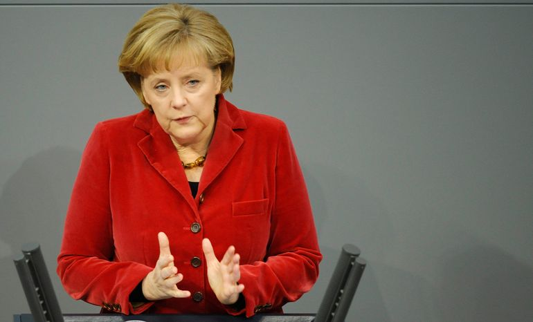 **FILE** German Chancellor Angela Merkel