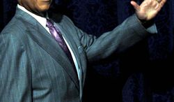 ** FILE ** Rev. Al Sharpton waves to at the National Action Network's 11th annual convention in New York, April 3, 2009. (AP Photo/Stephen Chernin)