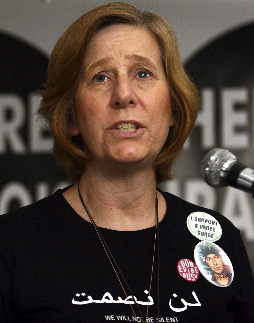 Cindy Sheehan (Associated Press)