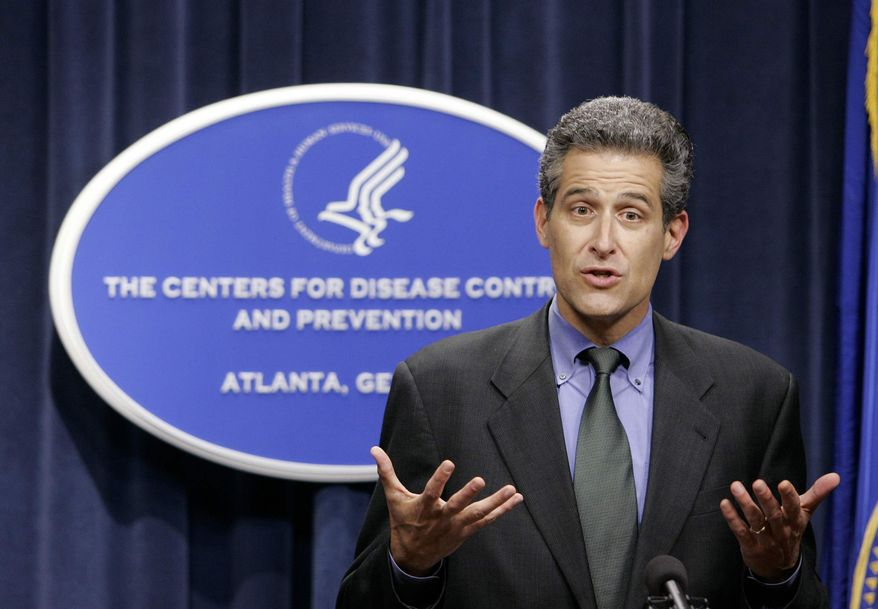 Acting Director of the Centers for Disease Control and Prevention Dr. Richard Besser. (AP Photo/John Bazemore)