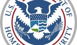 The seal of the Department of Homeland Security