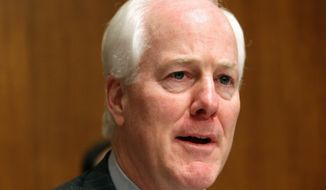 **FILE** Sen. John Cornyn, Texas Republican