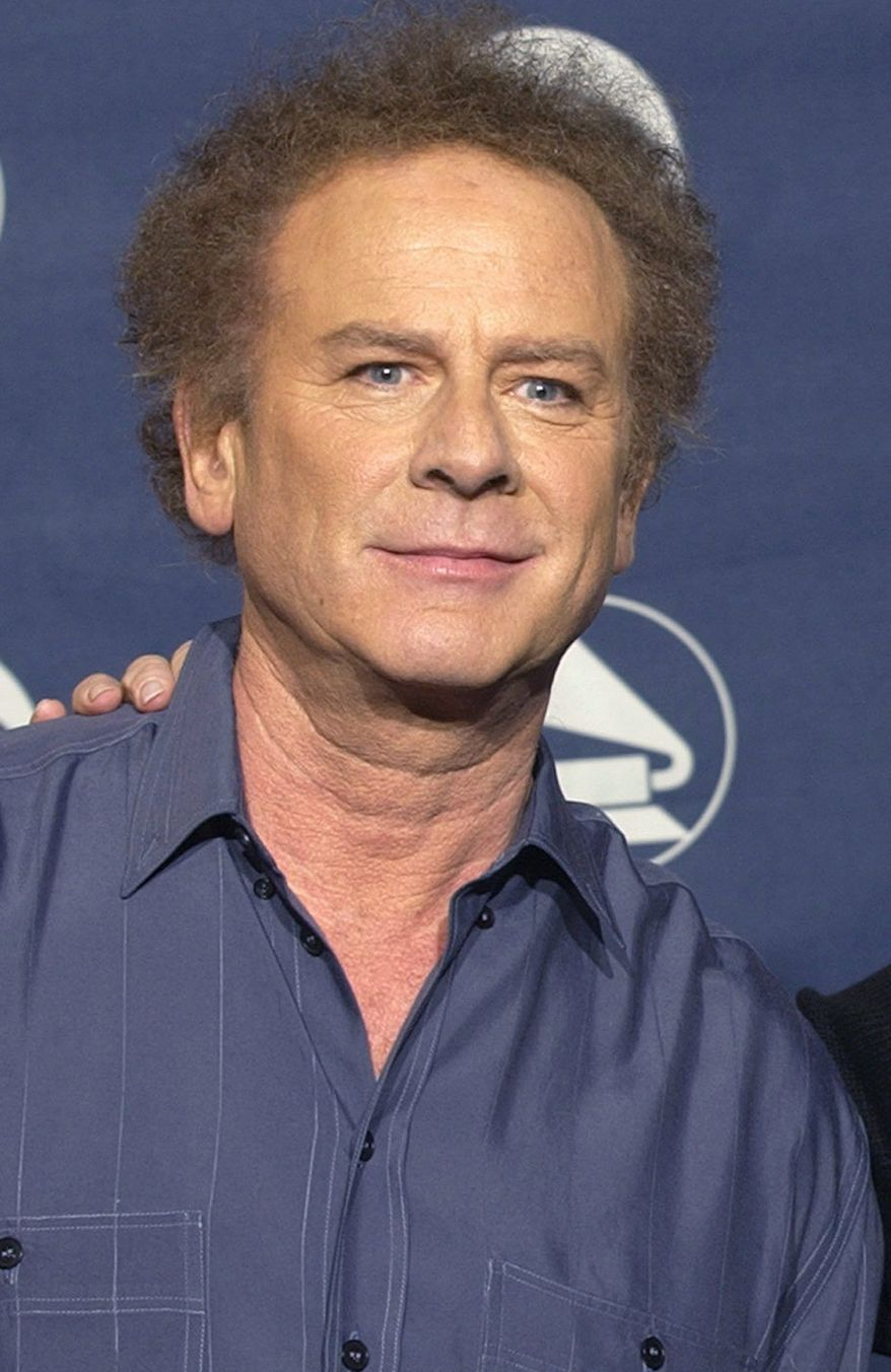 ** FILE ** Singer Art Garfunkel poses backstage at the Grammy Awards on Feb. 23, 2003, in New York. (AP Photo/Kathy Willens)