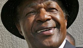 **FILE** D.C. Council member Marion Barry (ASSOCIATED PRESS)