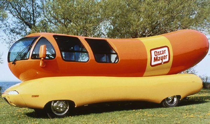 The Oscar Mayer Wienermobile (Kraft Foods)