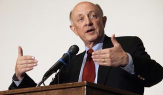 **FILE** R. James Woolsey Jr. (Associated Press)