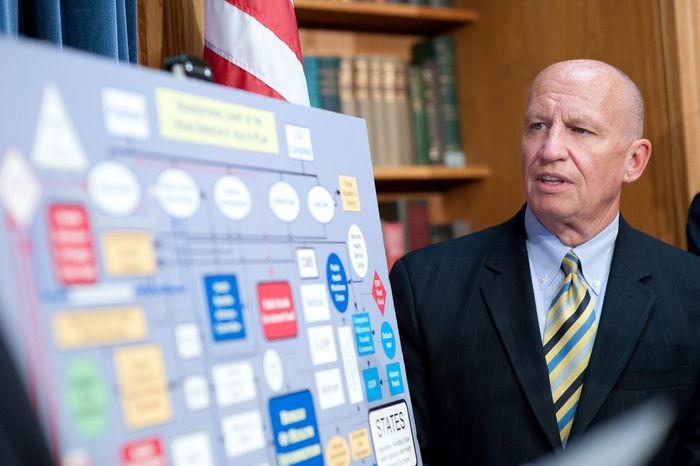** FILE ** Rep. Kevin Brady, Texas Republican (The Washington Times)