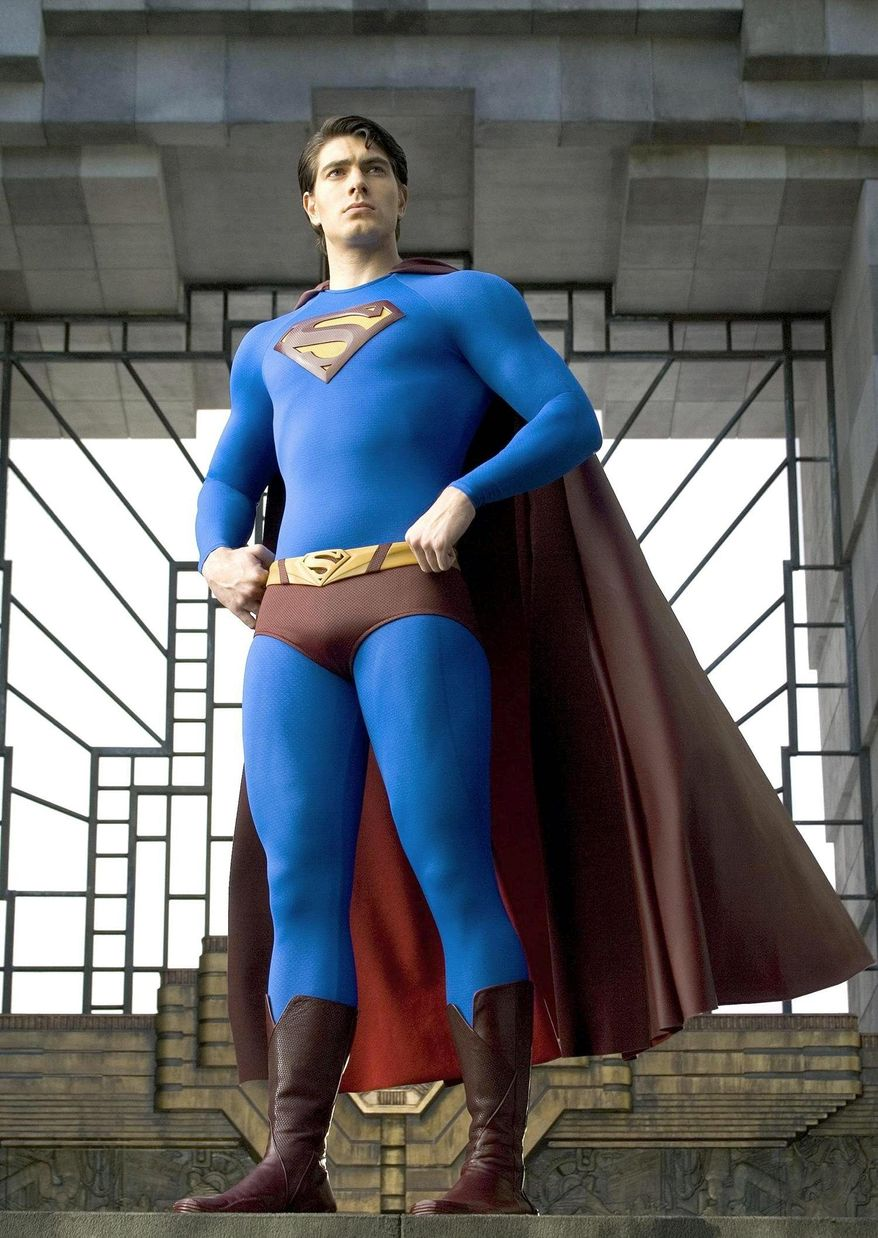 """Brandon Routh fights for """"Truth, justice, and all that stuff"""" in """"Superman Returns."""""""