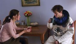 "** FILE ** Rose Byrne and Hugh Dancy star in ""Adam,"" which depicts a young man's struggle with Asperger's syndrome."