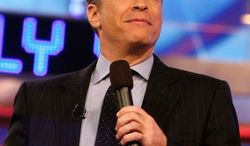 """Jon Stewart of Comedy Central's """"The Daily Show"""" enjoys debating current issues with conservative guests. (Associated Press)"""