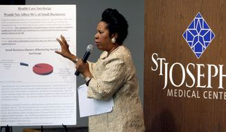 Rep. Sheila Jackson Lee, Texas Democrat (Associated Press)