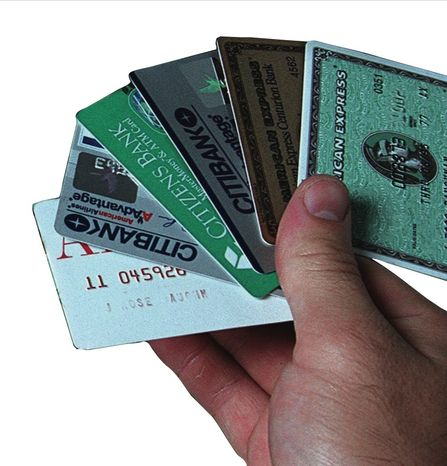 ** file photo ** Credit cards