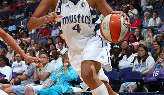 The Washington Mystics dealt popular forward Marissa Coleman to the Los Angeles Sparks for Noelle Quinn on Wednesday. (Associated Press)