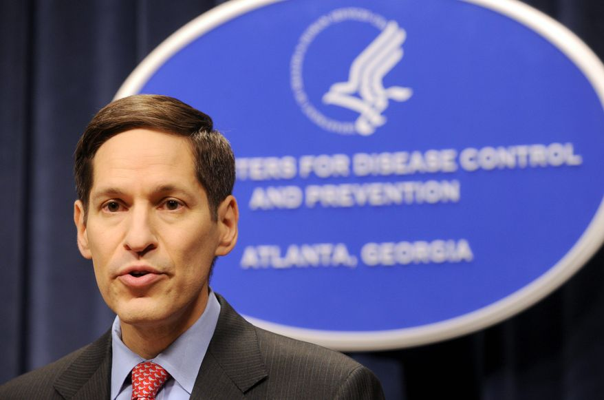 ** FILE ** Dr. Thomas Frieden, director of the Centers for Disease Control and Prevention. (Associated Press)