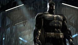 The Caped Crusader has never looked better in Eidos' third person action video game Batman: Arkham Asylum built for the Xbox 360 and PlayStation 3.