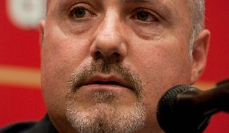 Washington Nationals General Manager Mike RIzzo (The Washington Times)